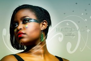 Natural Hair & MUA: Dibawssette Talented African Generation Photoshoot www.talentedafricangeneration.com
