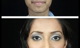 GLAMOUROUS MAKEOVER Tutorial - DEMO ON A MODEL