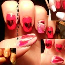 Anti-Vanlentine's Day Nail Art!