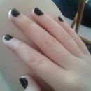 simple black nail
