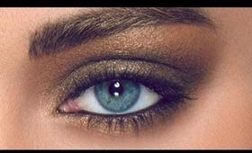 Layered Metallic Smoky Eyes (HD Makeup Tutorial)