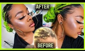 HOW TO STYLE FRIZZY LOCS? Low Neat Loc Bun Tutorial