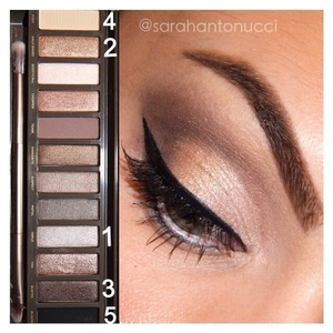 Naked 2 palette look! I'm doing a giveaway & a very lucky person can win one! @sarahantonucci
