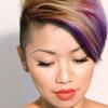 Short Hair Dont Care Purple