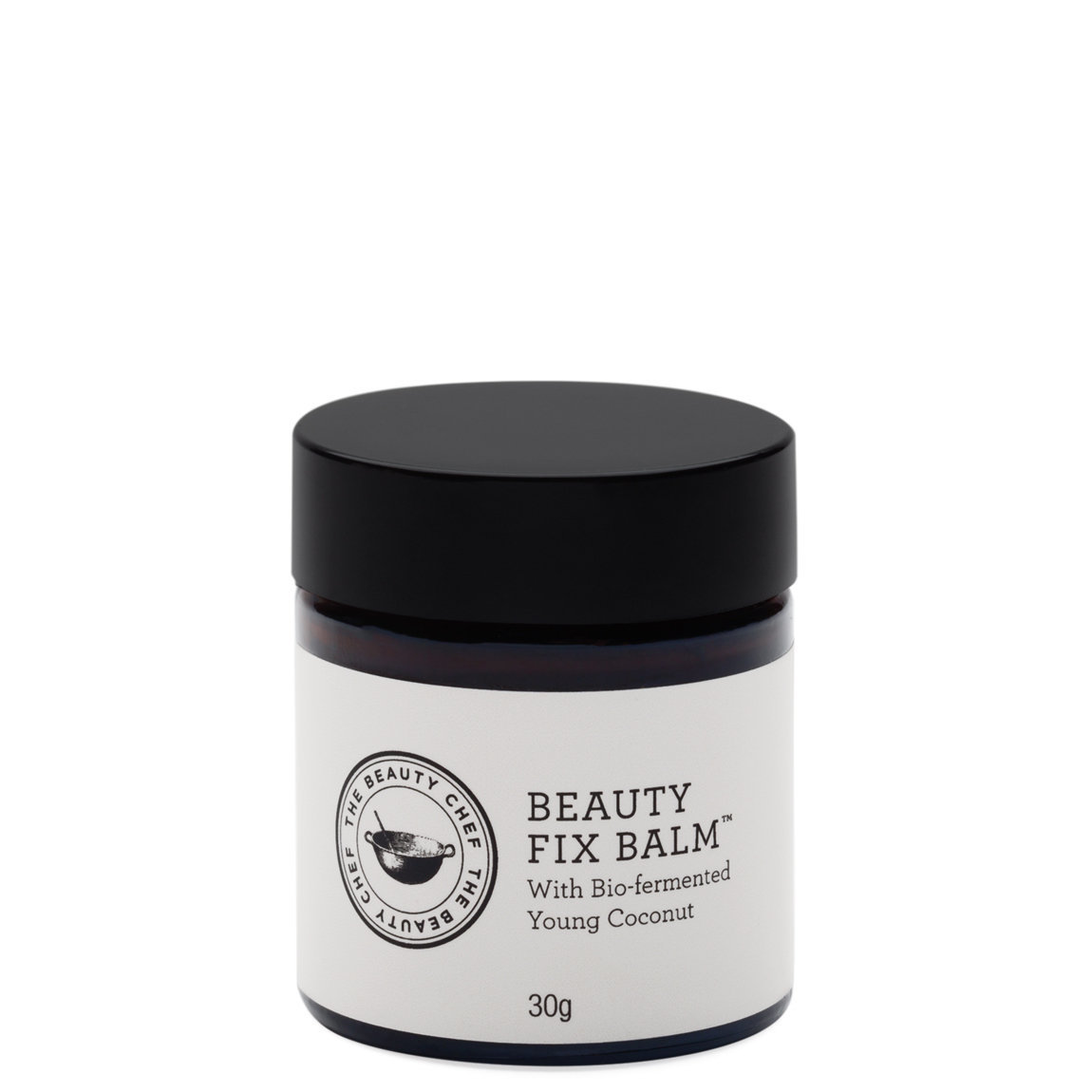 The Beauty Chef Beauty Fix Balm product smear.