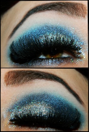 Used glitter for a job interview today. (: