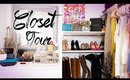 Closet Tour and How To Organize | ANNEORSHINE