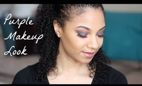 Purple Makeup Look | Bianca Renee Beauty