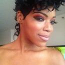 Rihanna inspired Mohawk