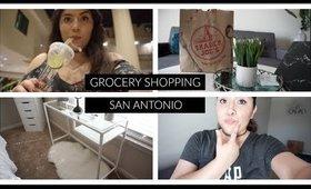 Grocery Shopping & San Antonio