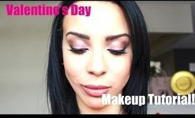 Pretty Valentine's Day Makeup Tutorial