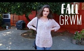 GRWM   Fall Makeup and Outfit 2018 !