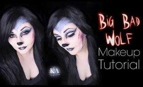 Big Bad Wolf Halloween Makeup Tutorial - 31 Days of Halloween