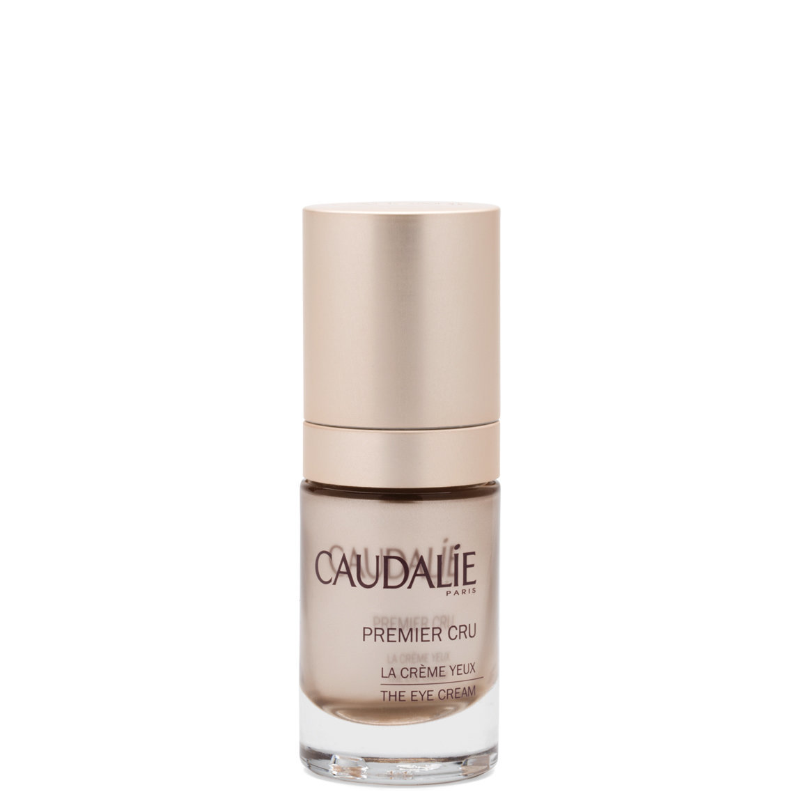 Caudalie Premier Cru The Eye Cream product smear.