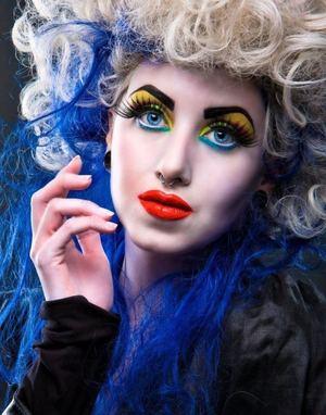 Make Up Artistry : Myself Photographer : Fidel Gonzalez Model : Katherine M