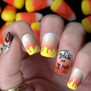 http://www.thepolishedmommy.com/2014/10/hpb-oct-halloween-mani-link-up-caramel-corns.html