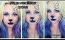 Cheetah/ Leopard Print Makeup Tutorial ll Halloween Inspired