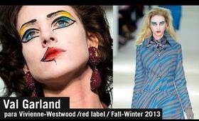Halloween Makeup Val Garland Inspired