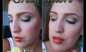 Ombre Green Eyeliner