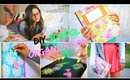 Back to School: DIY Organization! School Supplies & Room decor!