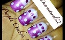 #102 Purple Ombre Nail Tutorial
