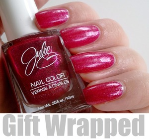 Julie G - Gift Wrapped http://www.beautybykrystal.com/2012/12/julie-g-gift-wrapped.html#
