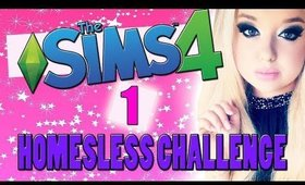 Sims 4: Homeless Challenge Ep.1 - IM BACK