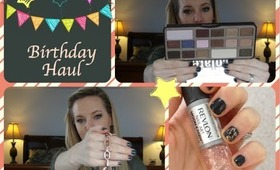 Birthday Haul: Micheal Kors, Too Faced, Aldo, Sephora