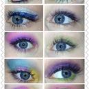 Eye looks I've done 🌙