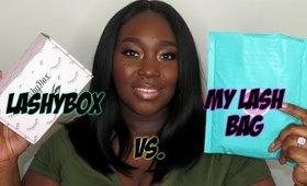 Lashybox vs. My Lash Bag