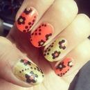Spring Flower Nails...