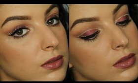 Ruby and Gold Holiday Makeup Tutorial ♥