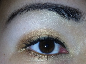 My take on a holiday makeup look!! See how I achieved this look on my blog at http://zayheartsmakeup.blogspot.com