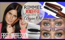 FIRST IMPRESSION | Rimmel Wonderful Mascara with Argan Oil