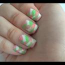 Fishtail braided nails!