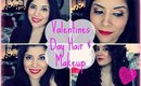 Valentines Day Hair & Makeup Collab w/ SweetSusy6