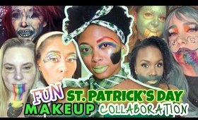 TUTORIAL: Fun St  Patrick's Day Makeup Collaboration