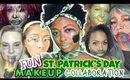 TUTORIAL: Fun St  Patrick's Day Makeup Collaboration