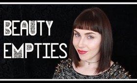 Beauty Empties #18 | LetzMakeup