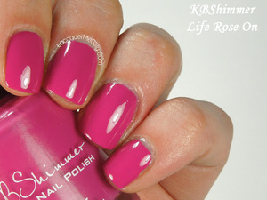 KBShimmer Life Rose On from the 2014 Spring Collection. More info can be found on my blog: http://www.lacquermesilly.com/2014/03/17/kbshimmer-spring-2014-collection/