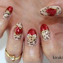 Festive Glam Nails