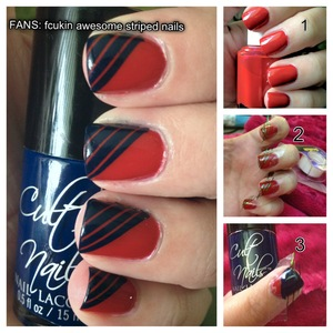 An easy how-to for some of my favorite nails :)