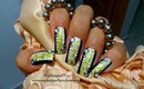 Golden Sparkles Abstract Nail Art Design Tutorial - ♥ MyDesigns4You ♥
