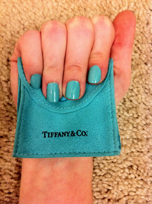 China Glaze's - For Audrey They nailed it on the Tiffany's blue!