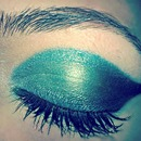 Defined Teal Green Shadow