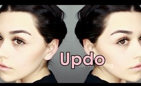 """""""Not your standard Updo"""" using Irresistible Me Hair extensions"""