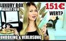 151€ Wert Luxuriöse Beauty Box Verlosung & Unboxing | Luxury Box Oktober 2019