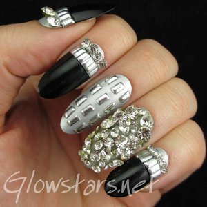 Read the blog post at http://glowstars.net/lacquer-obsession/2015/01/featuring-born-pretty-store-clear-dazzling-diamond-rhinestones/