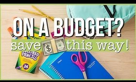 BACK TO SCHOOL SUPPLIES ON A BUDGET :  WHAT YOU NEED | SCCASTANEDA