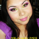 Nitraab insired Bright Spring makeup look